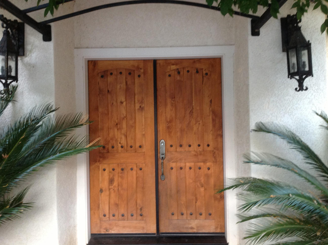 Photos of the solano 11 005 associated designs for Mediterranean style front doors