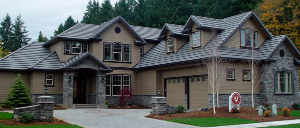 Photo of completed canyonville 30 775 associated designs for European home designs llc