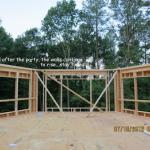 Sandpoint 10-565 - Framing Begins