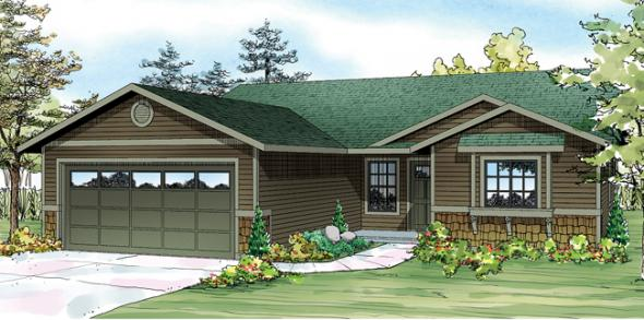 Foster 30-846 - Ranch Home Plan