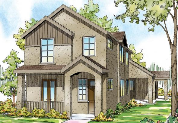 Rimrock - 30-817 - Townhomes - Front Elevation