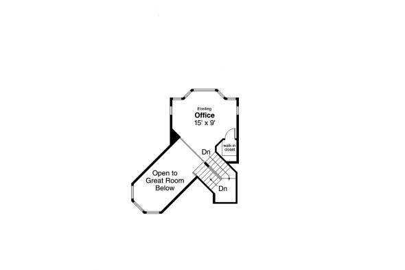 Cape Cod House Plan - Sherbrooke 30-371 - 2nd Floor Plan