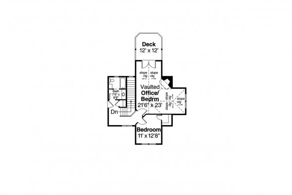 Classic House Plan - Huntsville 30-463 - 2nd Floor Plan
