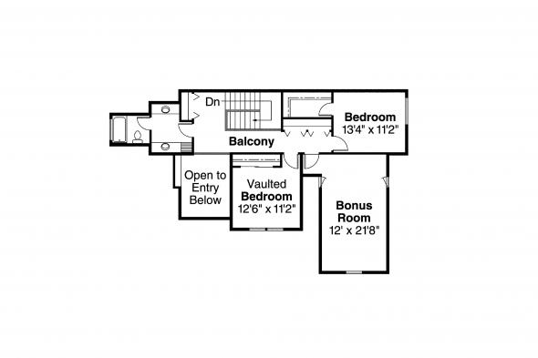 Classic House Plans - Remmington 30-460 - 2nd Floor Plan