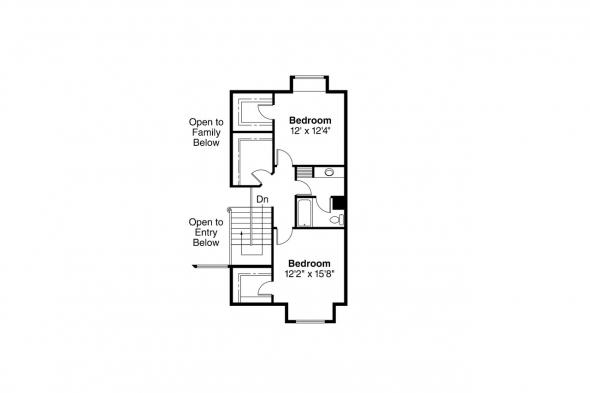 Contemporary House Plan - Gilcrest 30-270 - 2nd Floor Plan