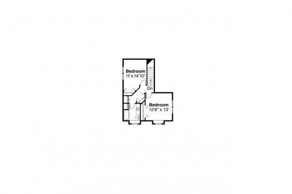 Contemporary House Plan - Newark 30-182 - 2nd Floor Plan