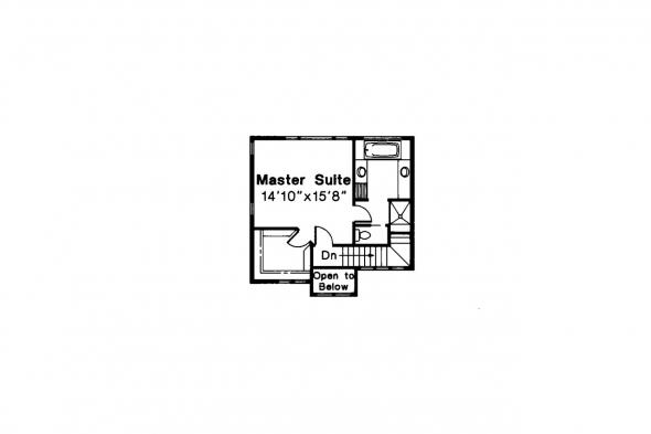 Contemporary House Plan - Samuel 30-026 - 2nd Floor Plan