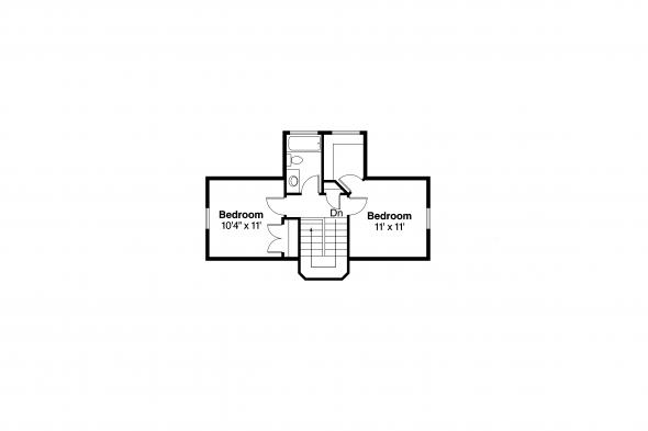 Cottage House Plan - Lawrence 30-103 - 2nd Floor Plan