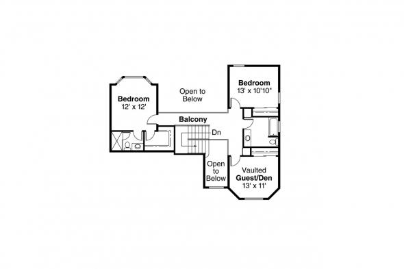 Country House Plan - Allegheny 10-204 - 2nd Floor Plan