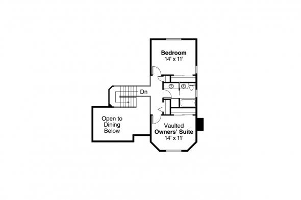 Country House Plan - Columbia 10-009 - 2nd Floor Plan
