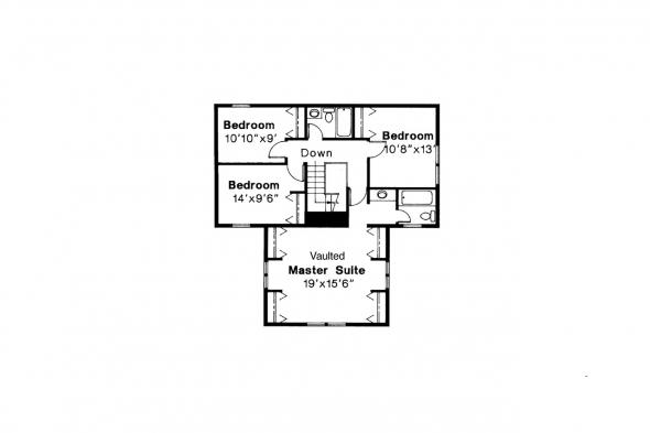 Country House Plan - Eldora 41-005 - 2nd Floor Plan