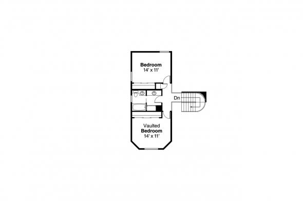 Country House Plan - Freemont 10-006 - 2nd Floor Plan