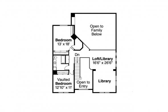 Country House Plan - Kendrick 30-236 - 2nd Floor Plan
