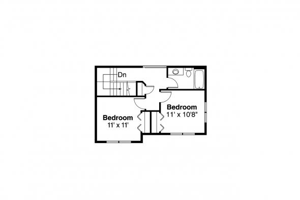Country House Plan - Ontario 30-830 - 2nd Floor Plan