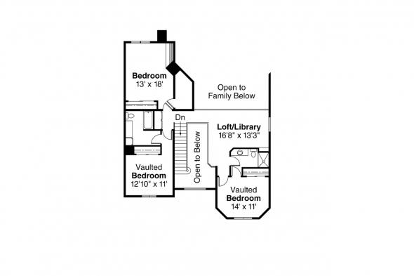 Country House Plan - Shelburn 30-035 - 2nd Floor Plan