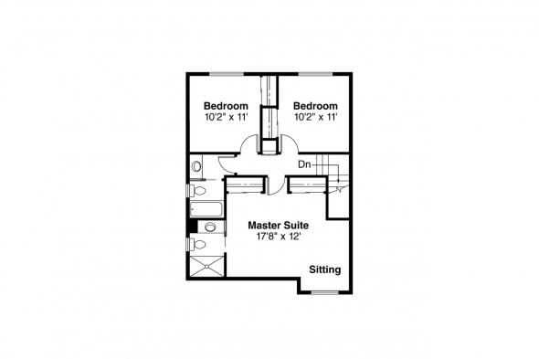 Country House Plan - Washburn 10-093 - 2nd Floor Plan