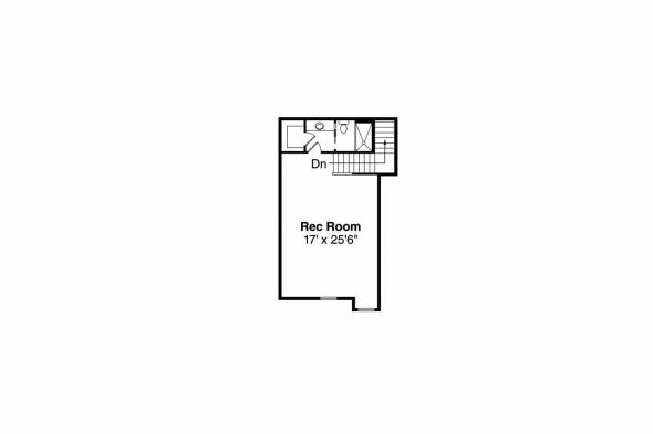 Craftsman House Plan - Elkheart 30-645 -  2nd Floor Plan