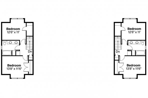 Duplex Plan - Philipsburg 60-030 - 2nd Floor Plan
