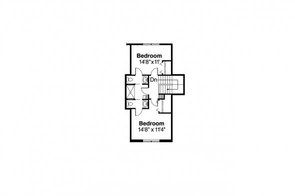 European House Plan - Brelsford 30-202 - 2nd Floor Plan