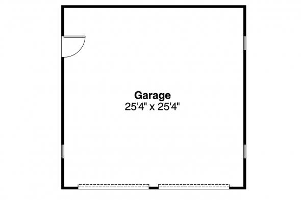 Garage Plan 20-003 - Floor Plan