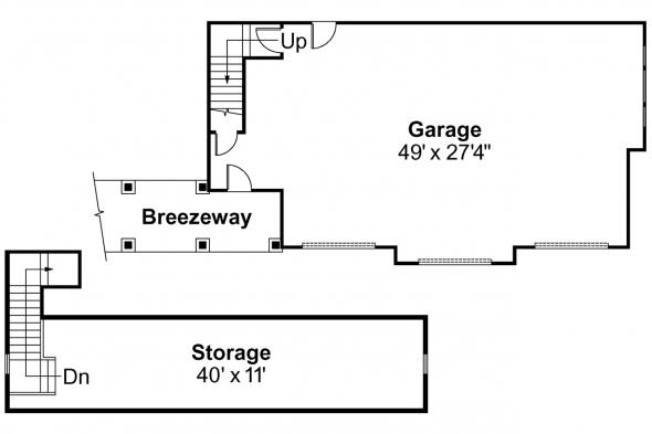 Garage Plan 20-019 - Floor Plan