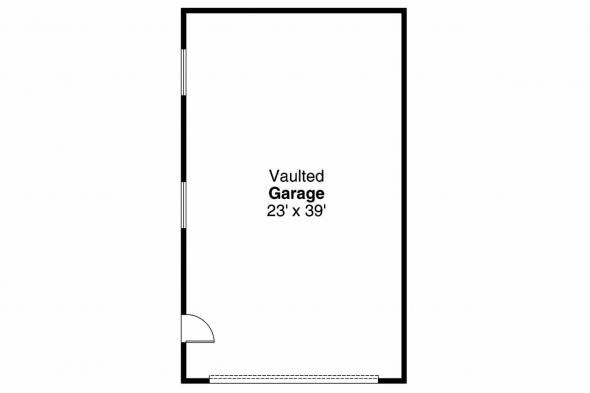 Garage Plan 20-030 - Floor Plan