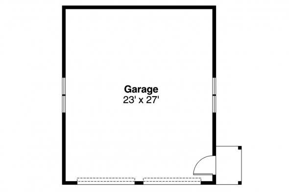 Garage Plan 20-006 - Floor Plan