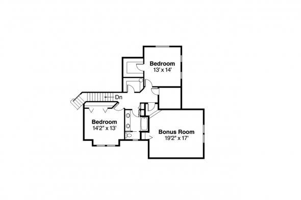 Georgian House Plan - Ainsworth 10-355 - 2nd Floor Plan
