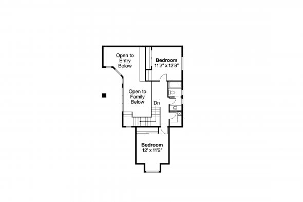 Mediterranean House Plan - Coronado 11-029 - Second Floor Plan