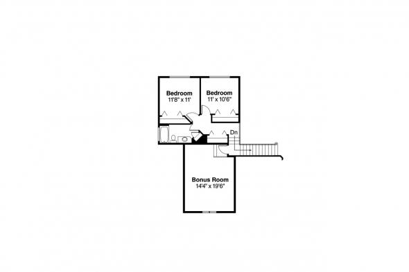 Mediterranean House Plan - Strasbourg 30-146 - 2nd Floor Plan