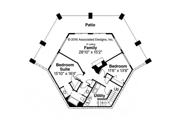 Prairie Style House Plan - Grandview 10-249 - 2nd Floor Plan