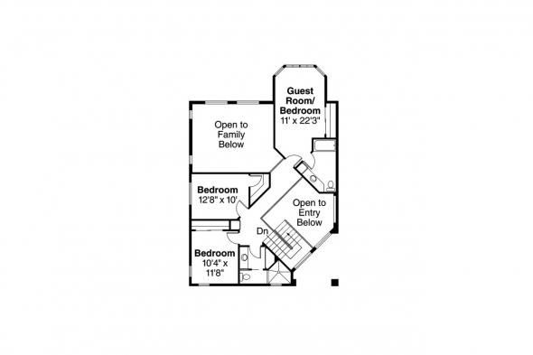 Southwest House Plan - Southaven 11-038 - 2nd Floor Plan
