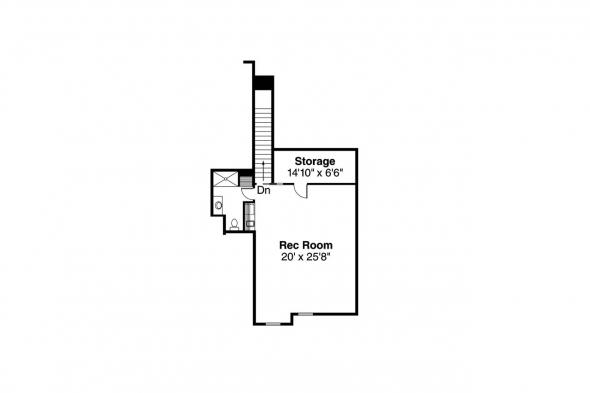 Traditional House Plan - Abbington 30-582 - 2nd Floor Plan