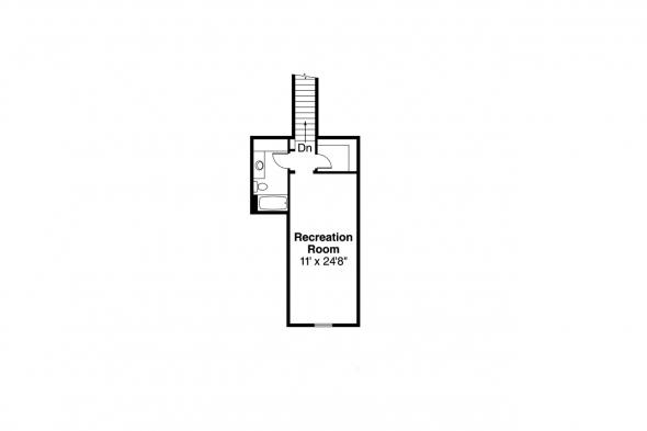 Traditional House Plan - Davidson 30-384 - 2nd Floor Plan