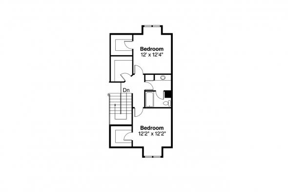 Traditional House Plan - Geneva 10-067 - 2nd Floor Plan