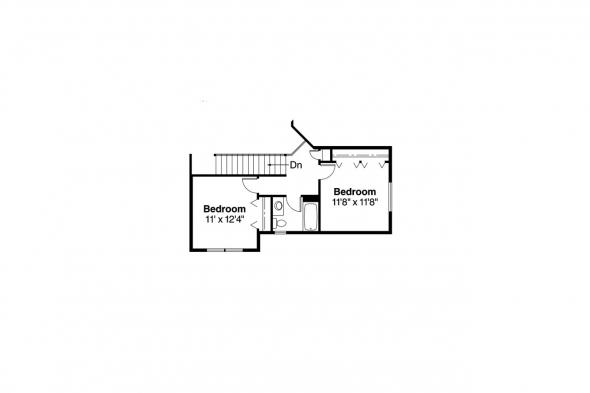 Traditional House Plan - Jasper 30-141 - 2nd Floor Plan