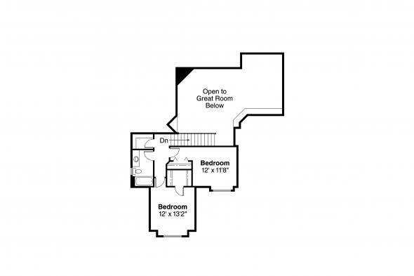 Traditional House Plan - McBride 30-488 - 2nd Floor Plan
