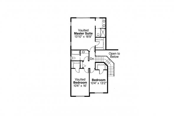 Traditional House Plan - Valemont 30-163 - 2nd Floor Plan
