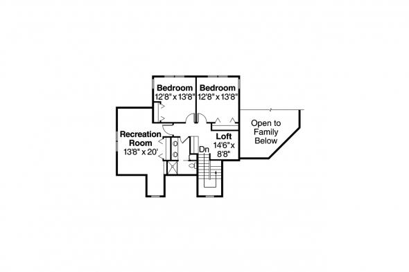 Tuscan House Plan - Meridian 30-312 - Second Floor Plan