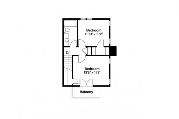 Victorian House Plan - Pearson 42-013 - 2nd Floor Plan