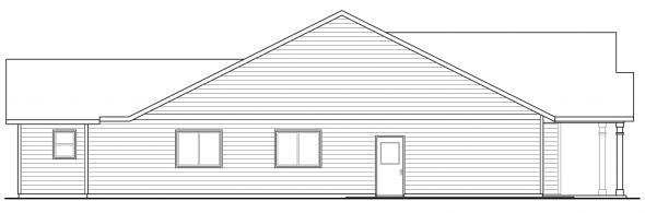 Caspian - 30-868 - Cottage Home Plans - Left Elevation