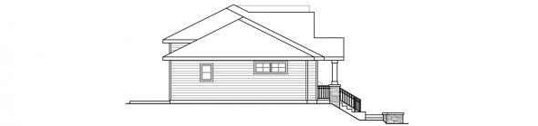 Lincolnshire - 60-032 - Duplex/Multi-Family - Left Elevation