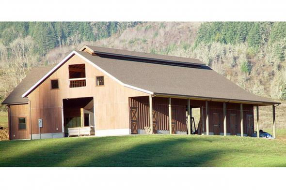 Barn Plan Photo 20-047 - Exterior