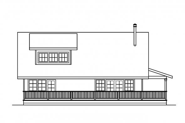 Cabin Plan - Arden 30-329 - Left Elevation