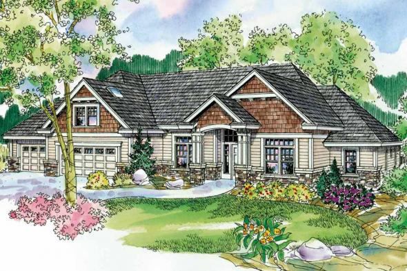 Cottage House Plan - Innsbrook 30-689 - Front Elevation