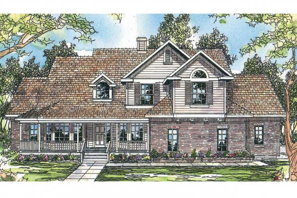 Country House Plan - Heartwood 10-300 - Front Elevation