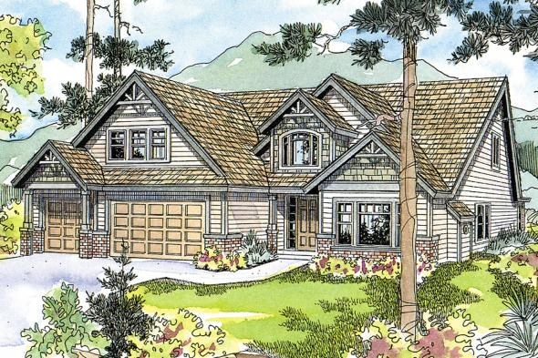 European House Plan - Tamarack 30-426 - Front Elevation