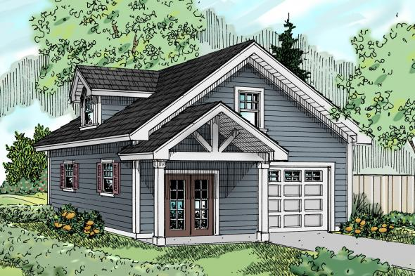 Garage Plan 20-024 - Front Elevation