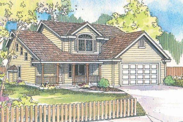 Traditional House Plan - Brighton 30-331 - Front Elevation