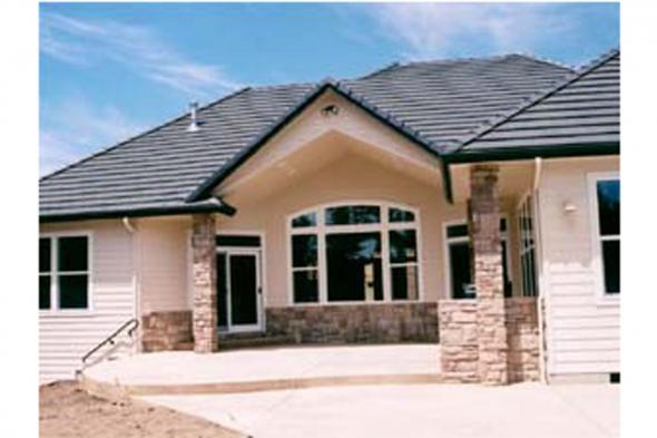 Tuscan House Plan Photo - Meridian 30-312 - Rear Exterior